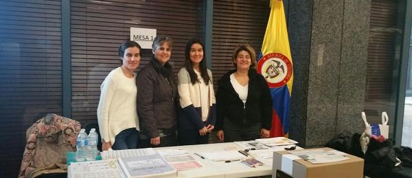 Consulado de Colombia en Ottawa dio apertura oficial a elecciones en el exterior para Congreso de la República