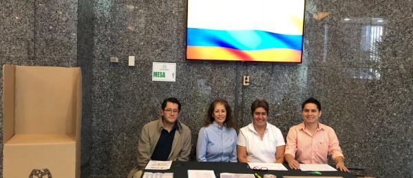 Consulado de Colombia en Ottawa dio apertura oficial a las elecciones en el exterior para Presidente y Vicepresidente de la República